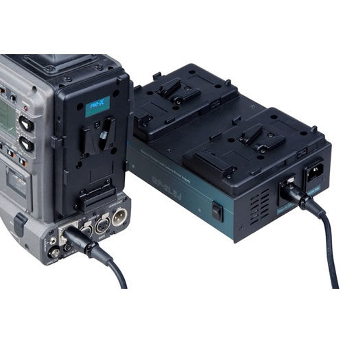 2 Channel 1.5A Battery Charger V Mount