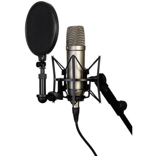 "NT1A 1"" Cardioid Condenser Microphone - Includes SM6 Shockmount and 20' Cable"