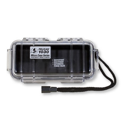 1030 Micro Case Black/Clear