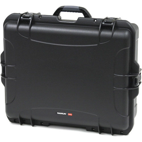 945 Case w/ Foam - Black