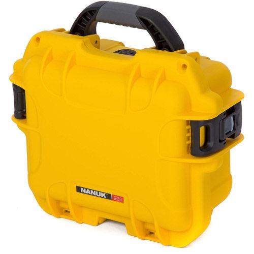905 Case w/ Foam - Yellow