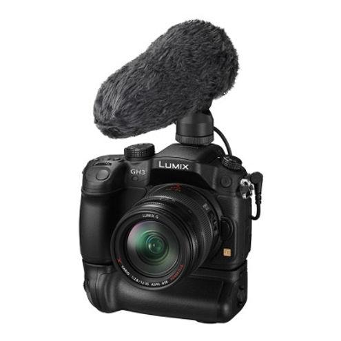 DMW-MS2 External Stereo Microphone for DMC-GH3/4