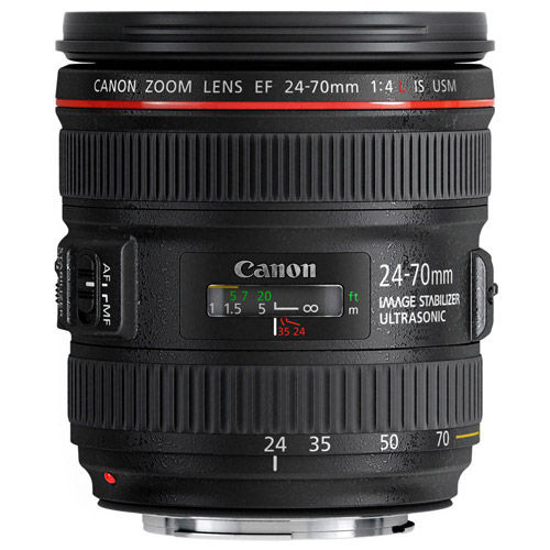 EF 24-70mm f/4.0L IS USM Standard Zoom Lens