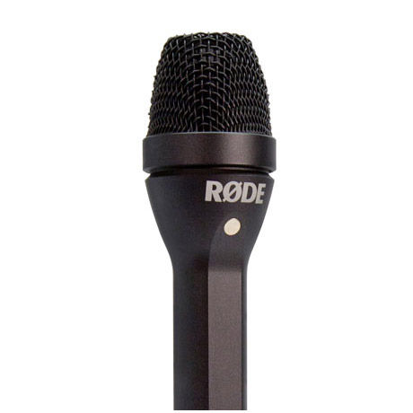 Reporter Omnidriectional Handheld Interview Microphone