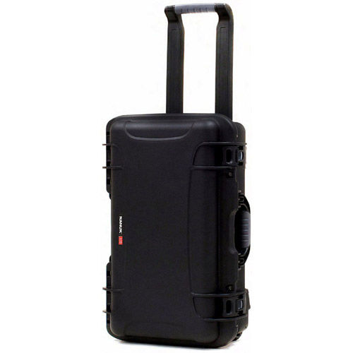935 Case w/ Dividers, Retractable Handle and Wheels - Black
