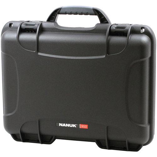 910 Case w/ foam - Black