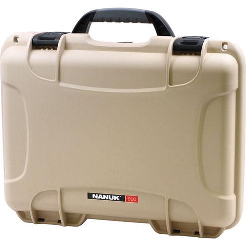 910 Case w/ foam - Tan