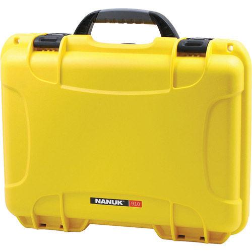 910 Case w/ foam - Yellow