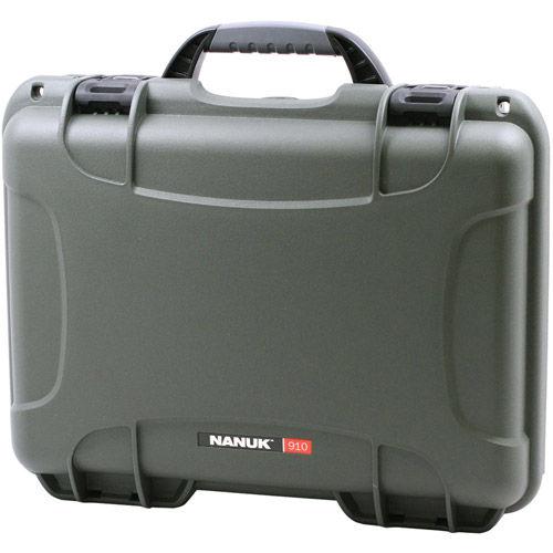 910 Case w/ foam - Olive