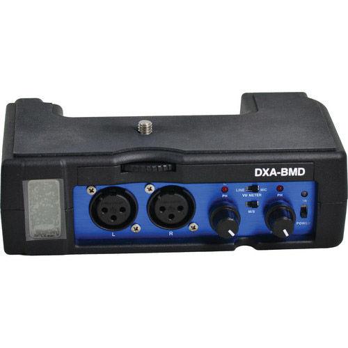 DXA-BMD Passive Audio Adapter For Blackmagic Camera