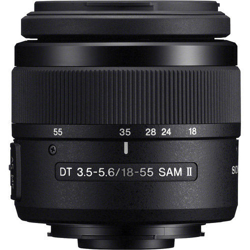 18-55mm f/3.5-5.6 SAM II DT A-Mount Lens (A99 & A77)