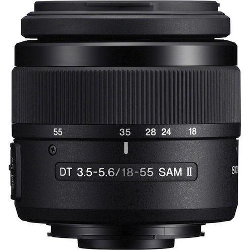 18-55mm f/3.5-5.6 SAM II DT A-Mount Lens (A99 & A77)