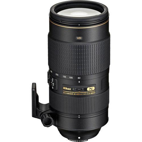 AF-S NIKKOR 80-400mm f/4.5-5.6 G ED VR Lens