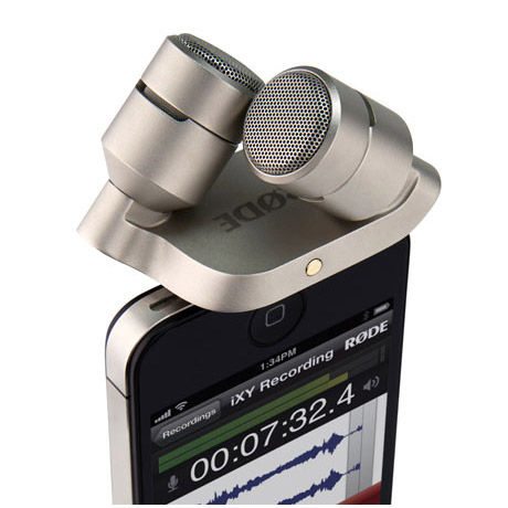 iXY Stereo Microphone For iPhone/iPad