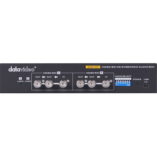 DAC-90 HD/SD-SDI Audio De-Embedder