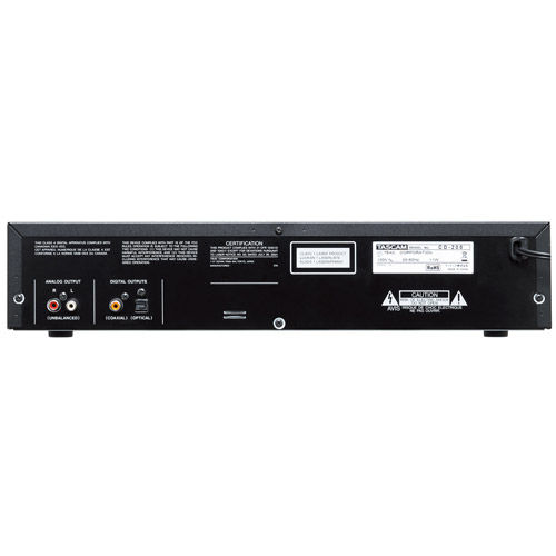 CD-200 Rack Mount CD Player