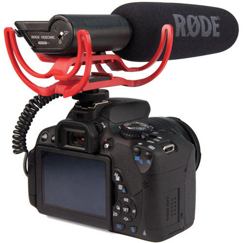 VM-R VideoMic with Rycote Lyre Suspension