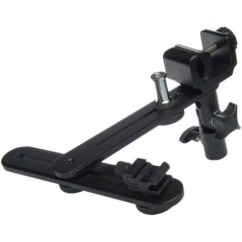 Reflector and Flash Holder Bracket for use on Light Stand