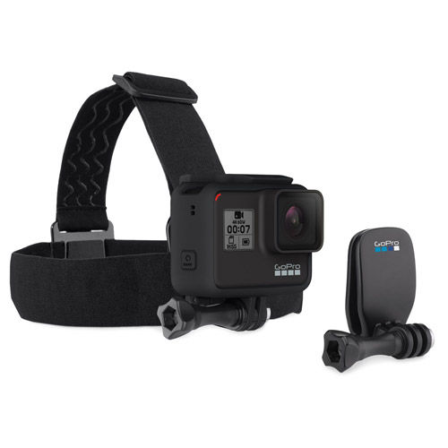 Head Strap with Quickclip HERO9 Black/ HERO8 Black