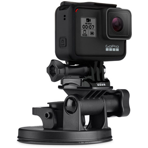 Suction Cup Mount with QR HERO9 Black/ HERO8 Black