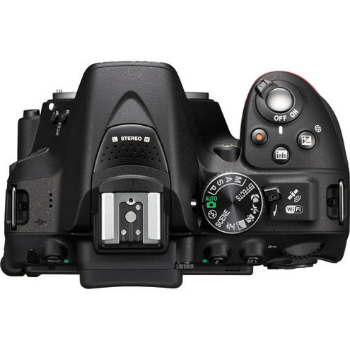 D5300 Body Black