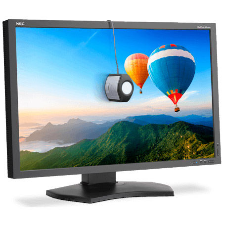 """PA302W-BK-SV 30"""" LCD Monitor with SpectraView Bundle"""