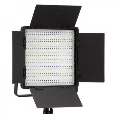 2 x CN-600SA LED Video Lights With 1 x Carry Case