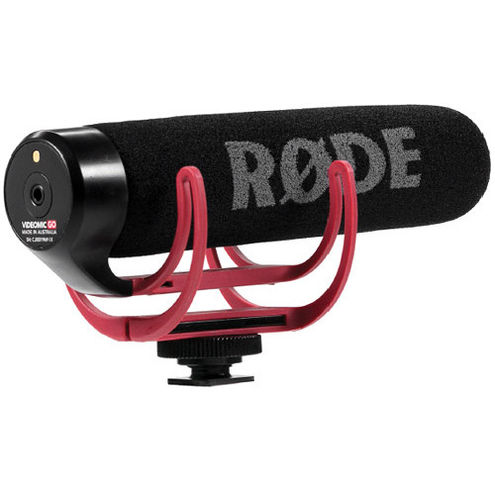 VideoMic-Go with Rycote Lyre Suspension