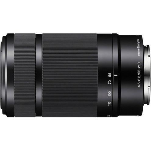 SEL 55-210mm f/4.5-6.3 OSS E-Mount Lens