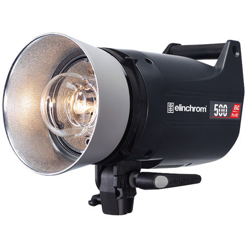 ELC Pro HD 500 Self Contained Flash Head