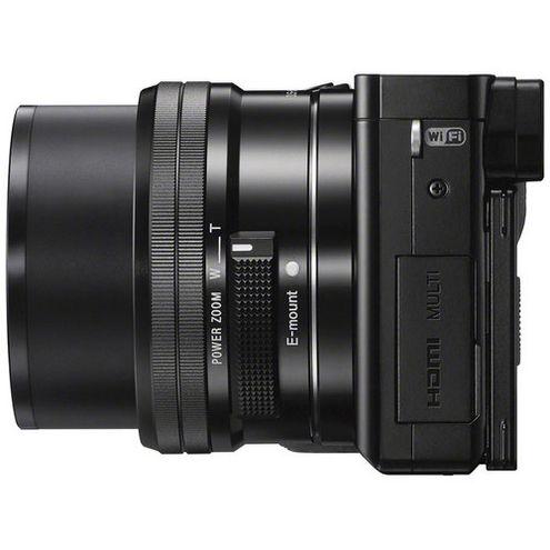 Alpha A6000 Mirrorless Black Kit w/ SEL 16-50mm Power Zoom Lens