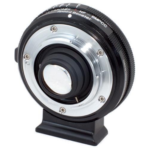 Nikon G to Blackmagic Pocket Camera Micro 4/3 Speed Booster (Black Matt)