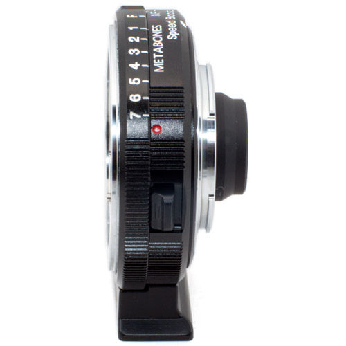 Nikon G to Blackmagic Micro 4/3 Speed Booster (Black Matt)