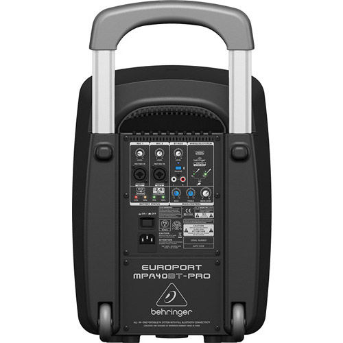 All-in-One Portable PA System w/ Full Bluetooth Connectivity