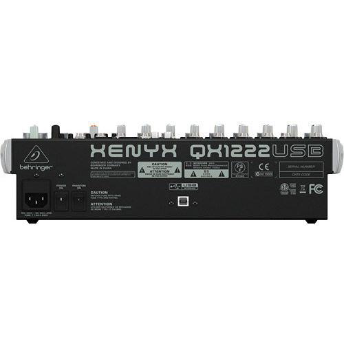 QX1222USB Premium 16-Input 2/2 Bus Mixer