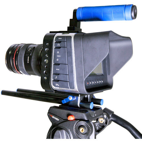 C3 Camera Cage for Blackmagic Cinema Camera with connector, rods and top handle
