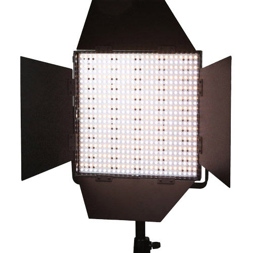 2x LG-600CS LED Lights Bi-Colour with Mantis 2x Light Stands, Stand Bag and Hard Case
