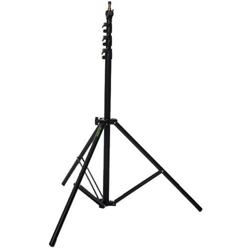 "19"" x 19"" Speedlight Collapsible  Softbox Kit - White with Tilthead Bracket and Medium Light Stand"