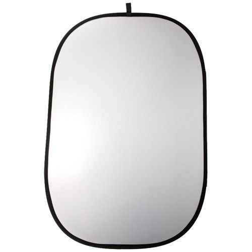 1.2 m x 1.8 m Double Stitched Reflector - Silver/ White