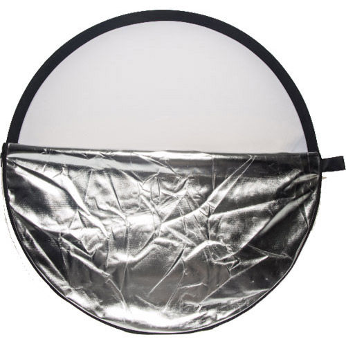 107 cm 5-In-1 Reflector Kit with 1.28 m Reflector Bracket, Light Stand and Stand Bag