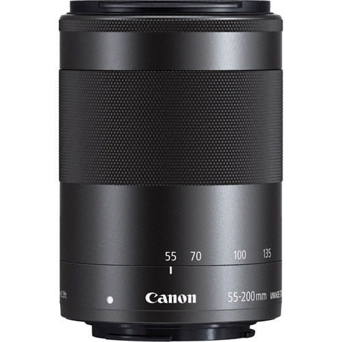 EF-M 55-200mm f/4.5-6.3 IS STM Telephoto Zoom Lens
