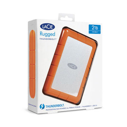 1TB Rugged Thunderbolt USB 3.0 Hard Drive