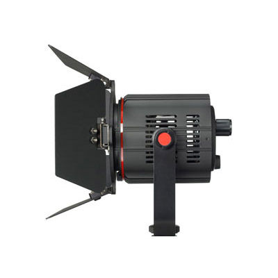 P180E LED Light w/Barn Door 3000-5600K  Flicker Free