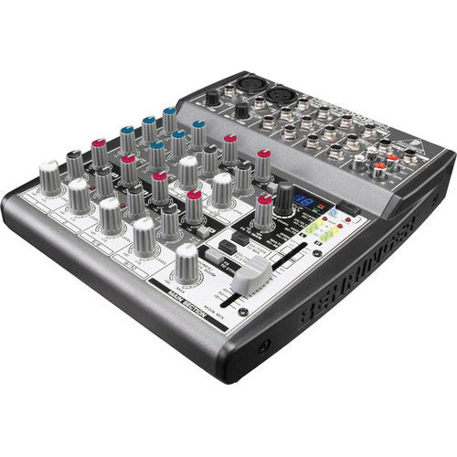 Premium 10-Input 2-Bus Mixer Multi-FX Processor
