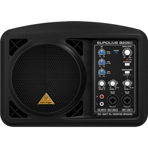 Ultra-Compact 150-Watt PA/ Monitor Speaker System