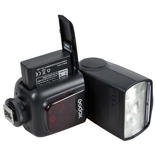 V860 Flash Kit -Nikon includes Li-On Battery, Charger, Pouch