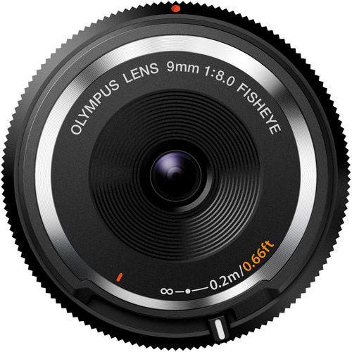 9mm f/8.0 Fisheye Body Lens Cap