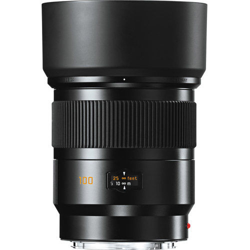 100mm f/2.0 Summicron-S ASPH Lens Black