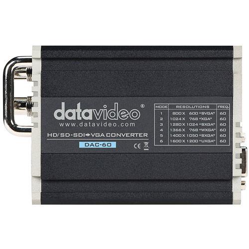 DAC-60 HD/SD-SDI to VGA Converter