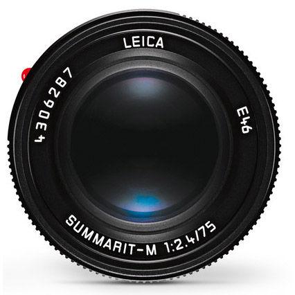 75mm f/2.4 Summarit-M Black Lens (E46)